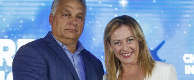 Orban con Meloni