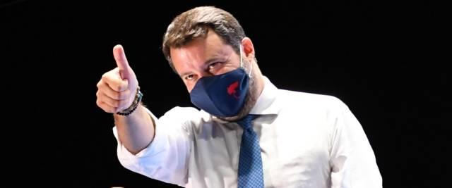 Salvini processo farsa foto Ansa