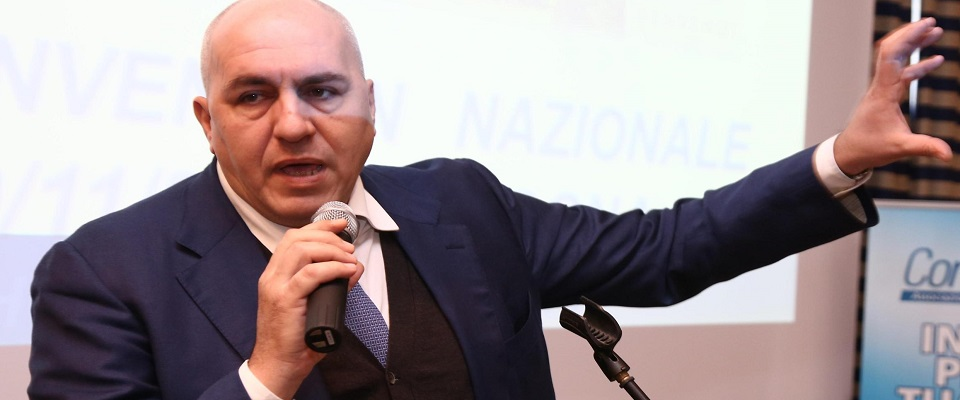 Scontro Crosetto Parenzo foto Ansa