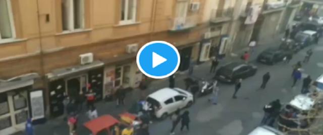 A Napoli rissa di immigrati