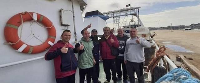 Pescatori liberati