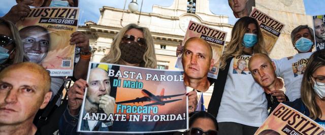 Chico Forti, manifestazione