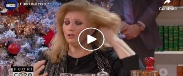 Scorta fidanzata Iva Zanicchi contro Conte