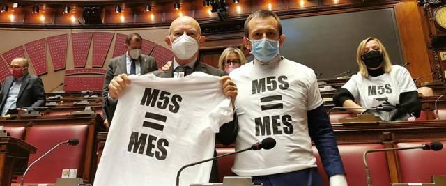Fdi denuncia l'ipocrisia del M5S sul Mes