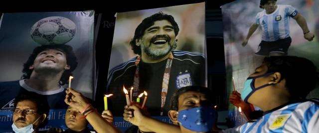 Morte di Maradona e medici