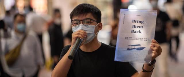 joshua wong condannato