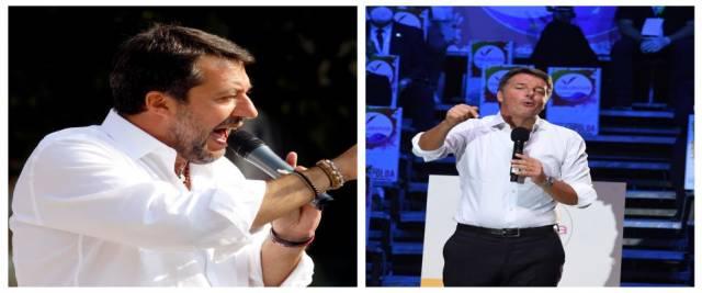 Salvini Renzi