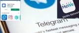 Signal, Telegram, MeWe