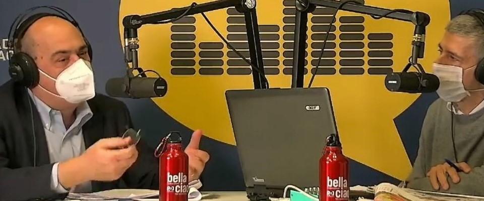 Zingaretti Inaugura Radio Immagina Dem Sempre Piu Egemoni Nei Media La Destra Prenda Appunti Secolo D Italia
