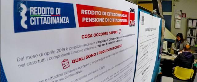 Reddito di cittadinanza romeni