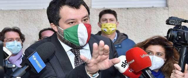 Salvini su crisi di governo