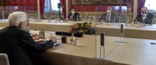 consultazioni Crimi M5S da Mattarella