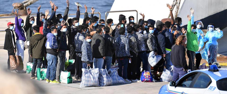 migranti covid