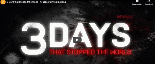 Covid video i 3 giorni che hanno fermato il mondo