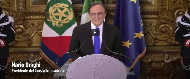 Crozza imita Draghi