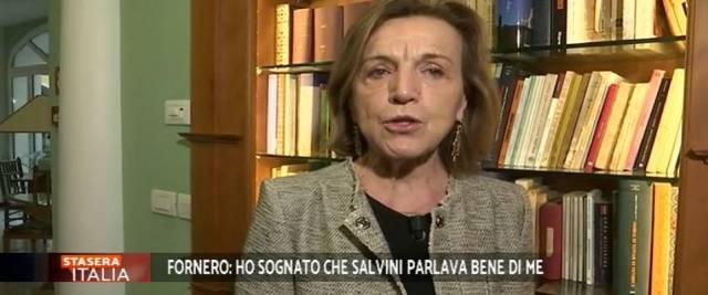 Fornero attacchi a Salvini