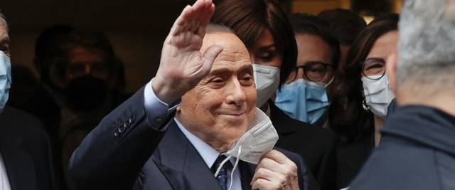 berlusconi draghi Ansa