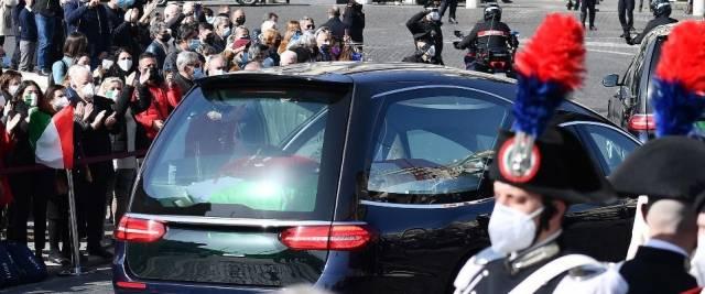 funerali attanasio iacovacci ANSA