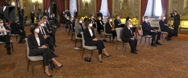 Ministri giurano