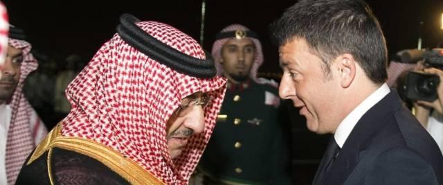 Arabia Saudita Renzi