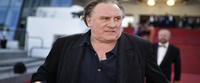 Gérard Depardieu indagato per stupro