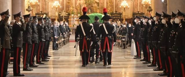 funerali carabiniere Iacovacci