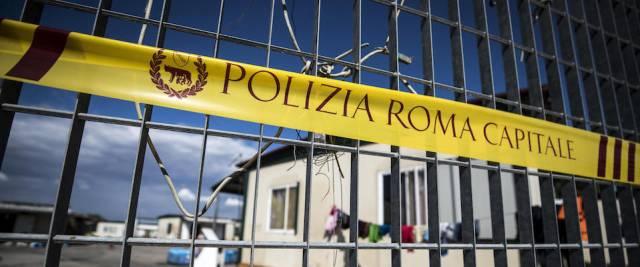 covid campo rom castel romano