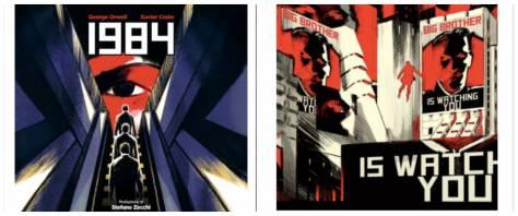 1984 fumetto orwell