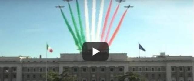 Frecce Tricolori a Roma