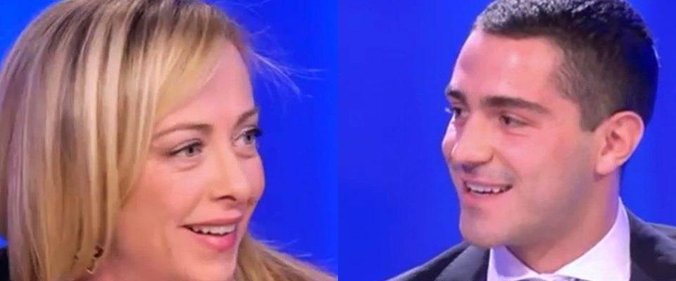 Giorgia Meloni Tommaso Giorgi
