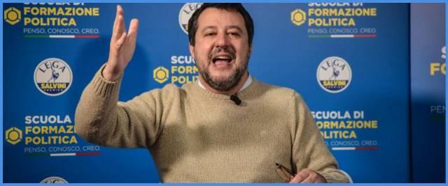 Salvini sulla Giustizia