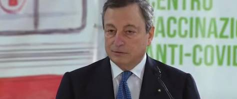 draghi inglese VIDEO