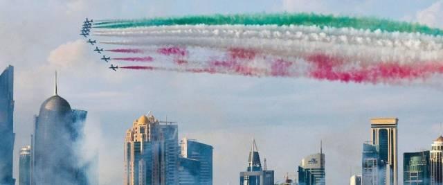 frecce tricolori Qatar