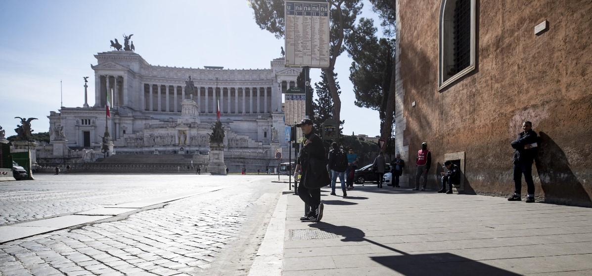 lockdown roma ANSA