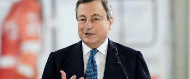 sondaggio fiducia a Draghi