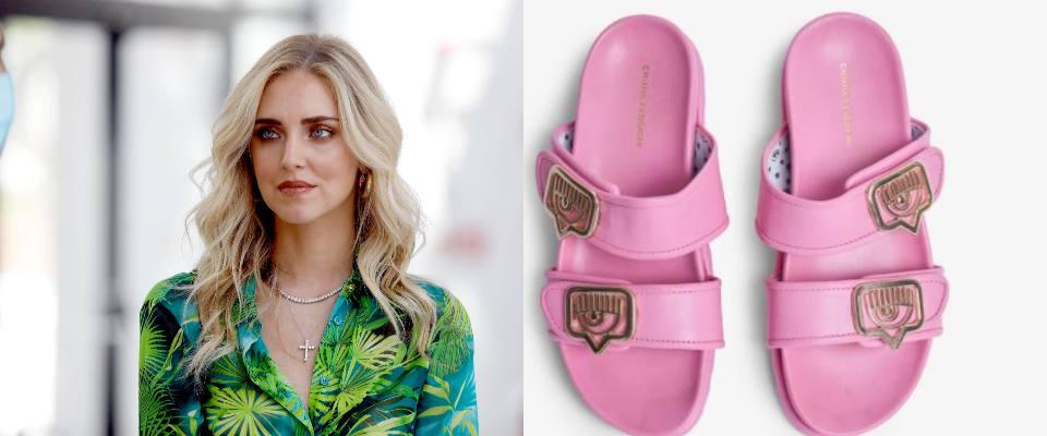 Chiara Ferragni sandali