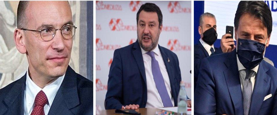 Conte Letta Salvini