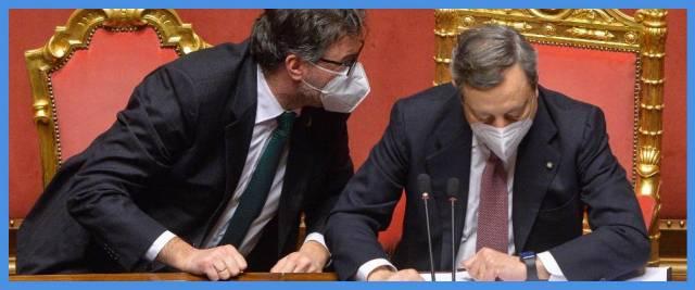 Draghi incontra la Lega