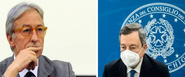 Feltri Draghi