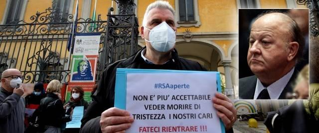 Rsa appello Massimo Boldi
