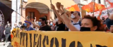 Bologna corteo antifascista