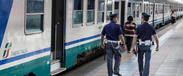 rissa in treno nigeriano