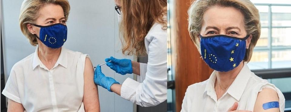 ursula von der leyen pfizer vaccino
