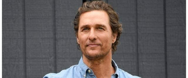 Matthew McConaughey texas
