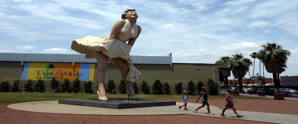 Marilyn statua