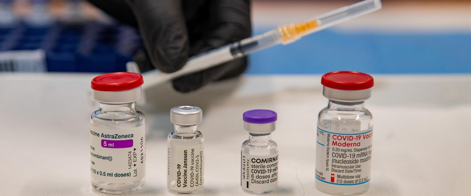 mix di vaccini