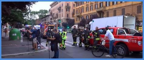 Allarme bomba a Roma
