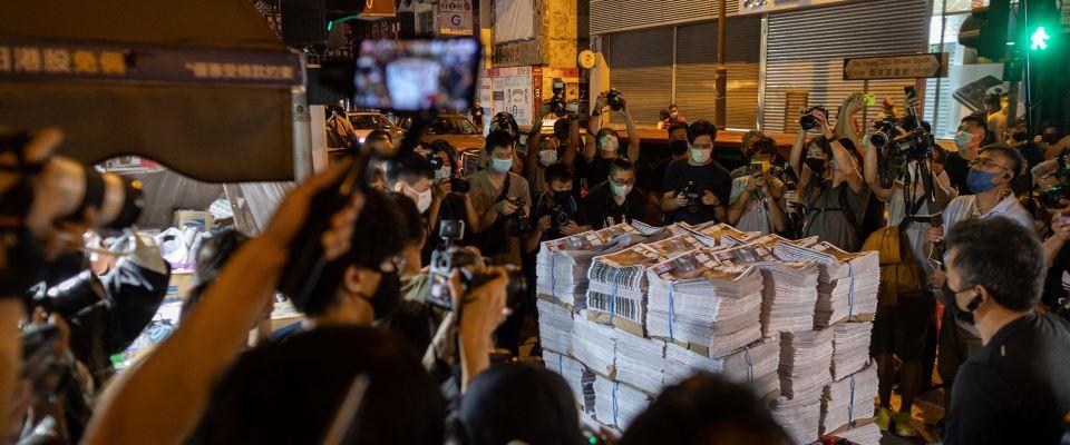 Hong Kong Apple Daily Cina