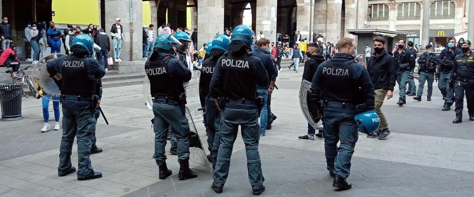 Milano rissa immigrati