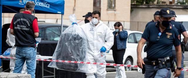 cadavere in valigia Roma
